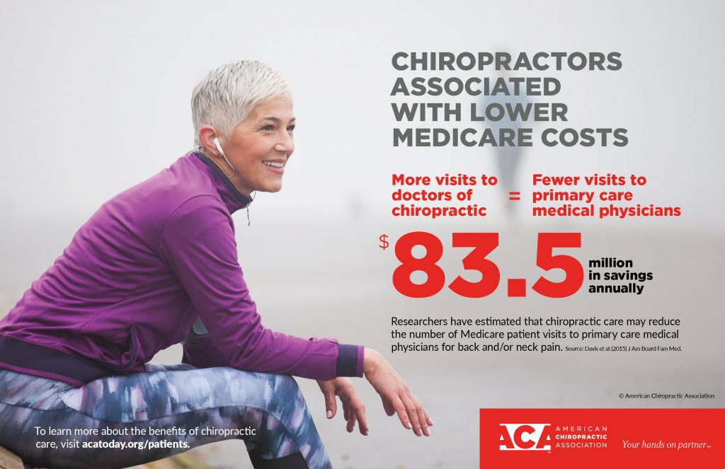 chiropractic care helps lower medicare costs